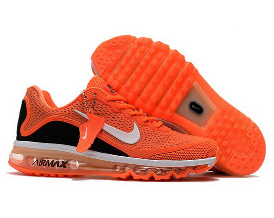 Mens Nike Air Max 2017.5 Orange Black Sale